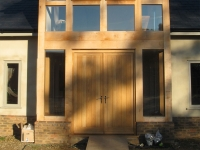 Oak Door by Woodcraft Construction North Devon