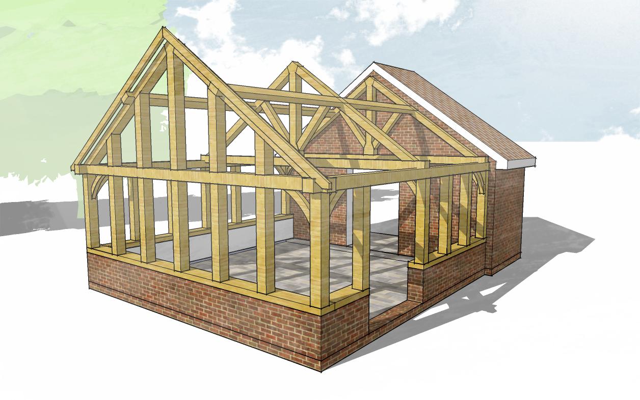free-oak-framed-design-service