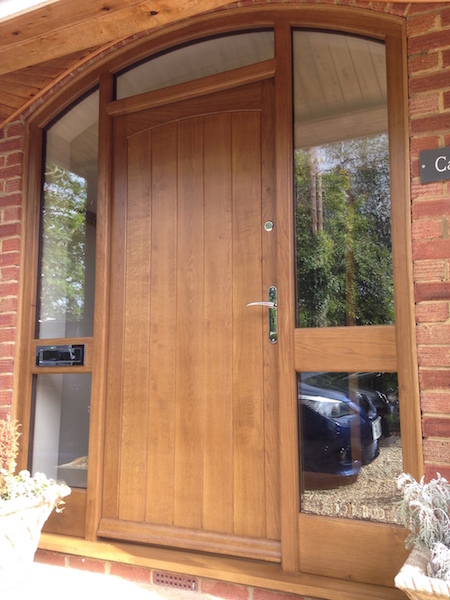 Pin oak front door on pinterest for Oak front doors