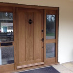 traditional oak front door Berkshire