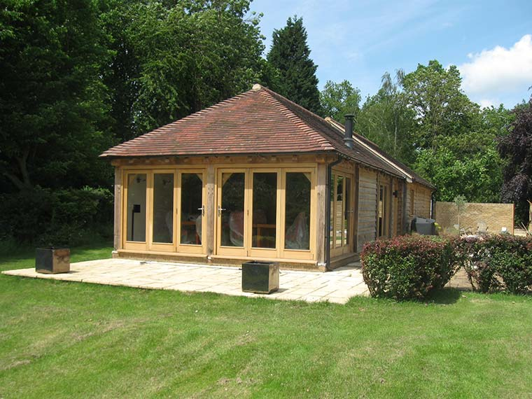 Outdoor Timber Frame - Devon