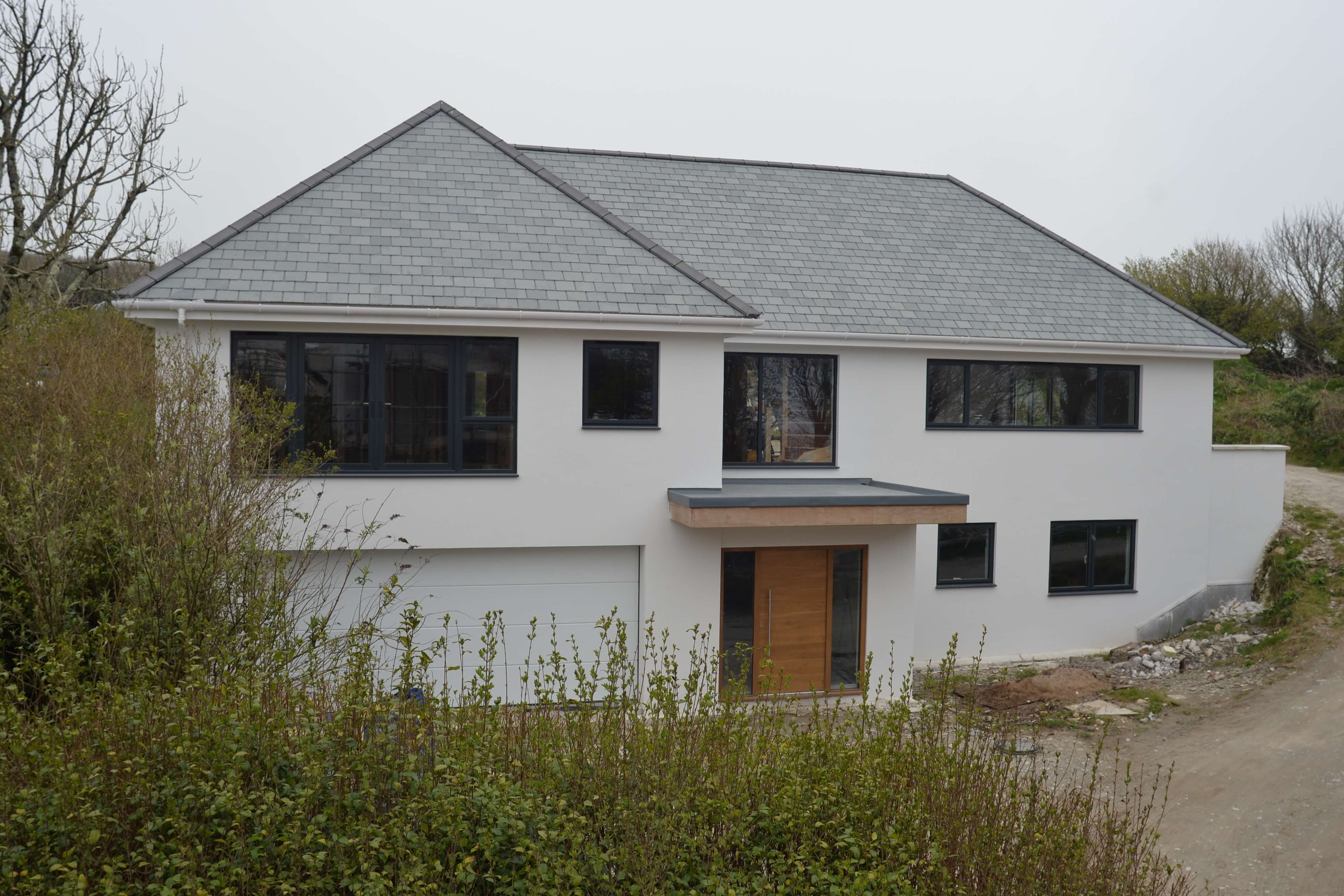 Front View - Green Space - New Build