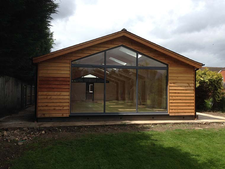 Devon - Outside Space - Timber Building